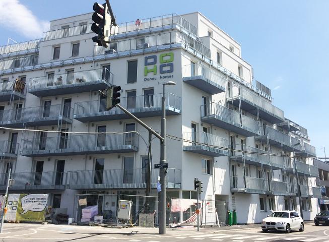 Baufortschritt Effenbergplatz