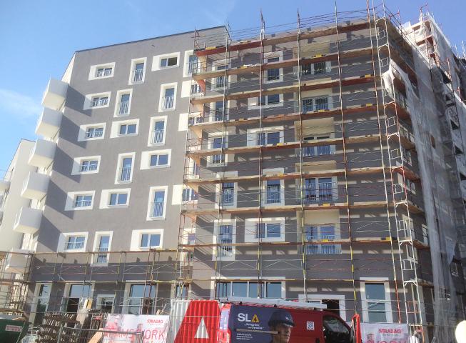 Baufortschritt Aspern J12