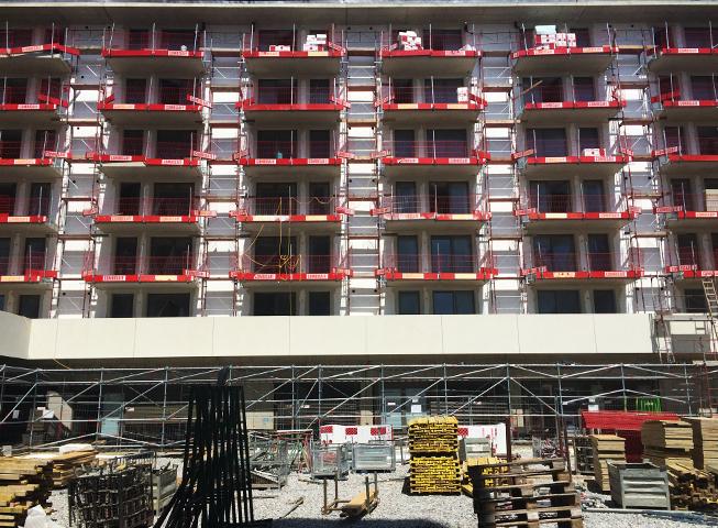 Baufortschritt Eckertstrasse