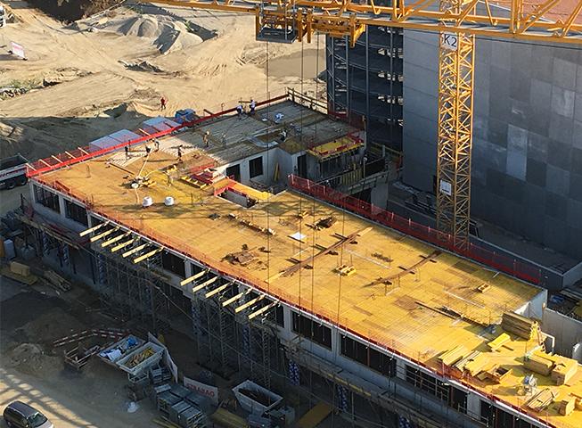 Baufortschritt Hauptbahnhof