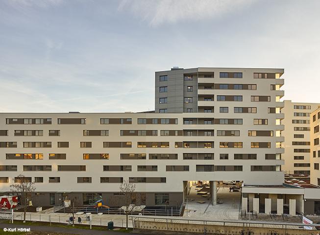 Baufertigstellung Eckertstrasse