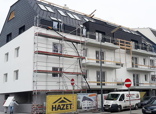 Baufortschritt Wenhartgasse
