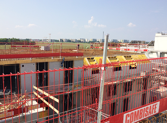 Baufortschritt Stadlbreiten 9+11