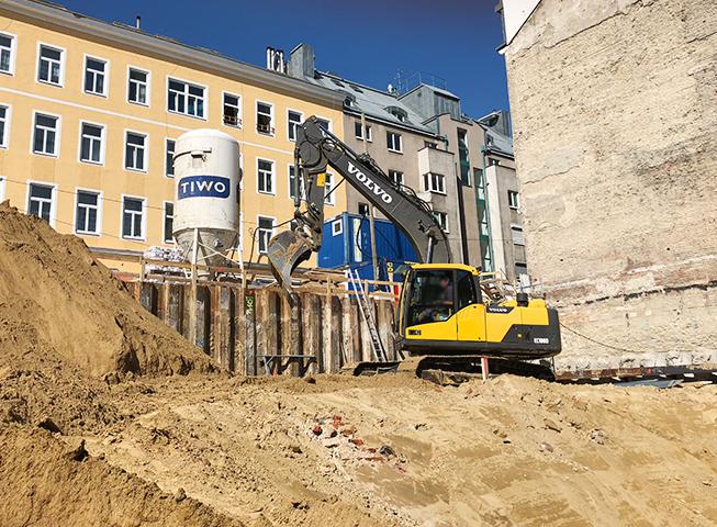 Baufortschritt Paulusgasse