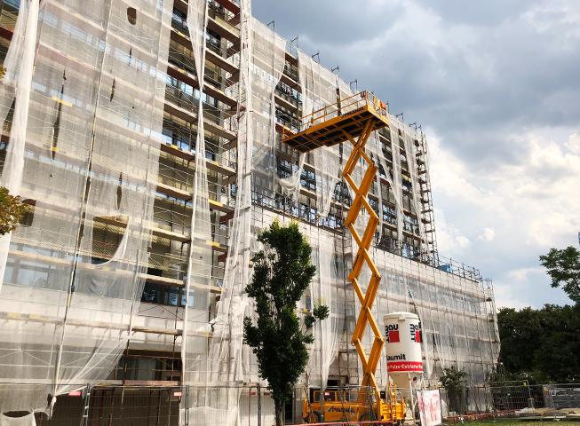Baufortschritt Messestrasse II
