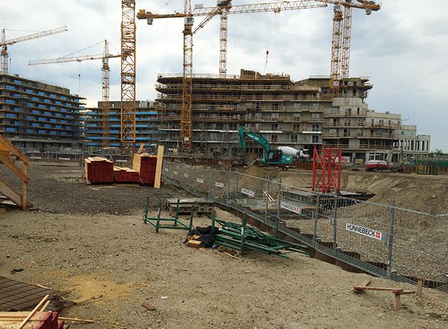 Baufortschritt Aspern J4
