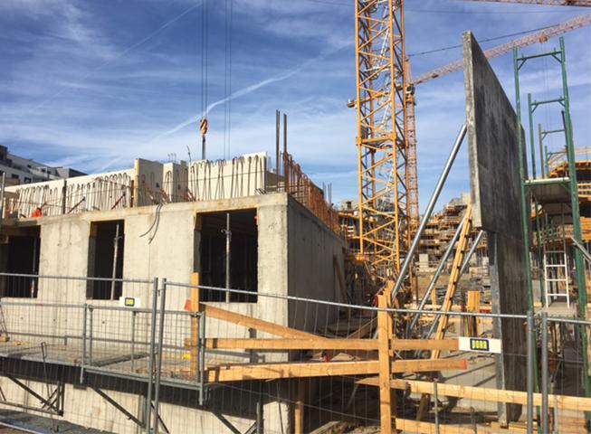 Baufortschritt Grundäckergasse II