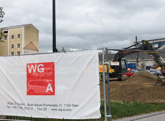 Baufortschritt Gailenbachweg