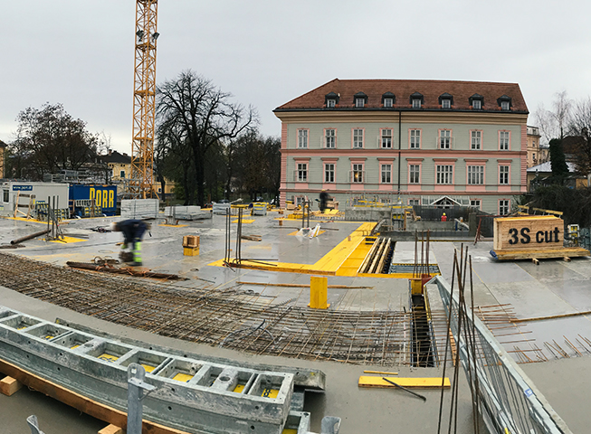 Baufortschritt Viktringer Ring, Klagenfurt