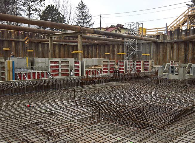Baufortschritt Saltenstrasse