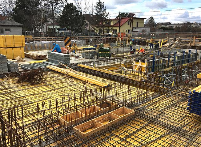 Baufortschritt Saltenstrasse 15.03.2019